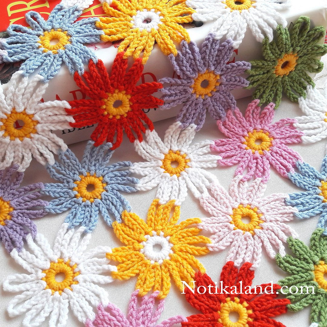 Crochet EASY pattern for doily, tablecloth,baby blanket
